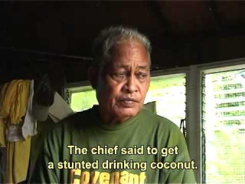 Satawalese navigator Mau Piailug talks about the story of the first navigators