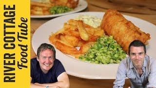 Fish & Chips In Beer Batter | Barry Lewis & Gill Meller