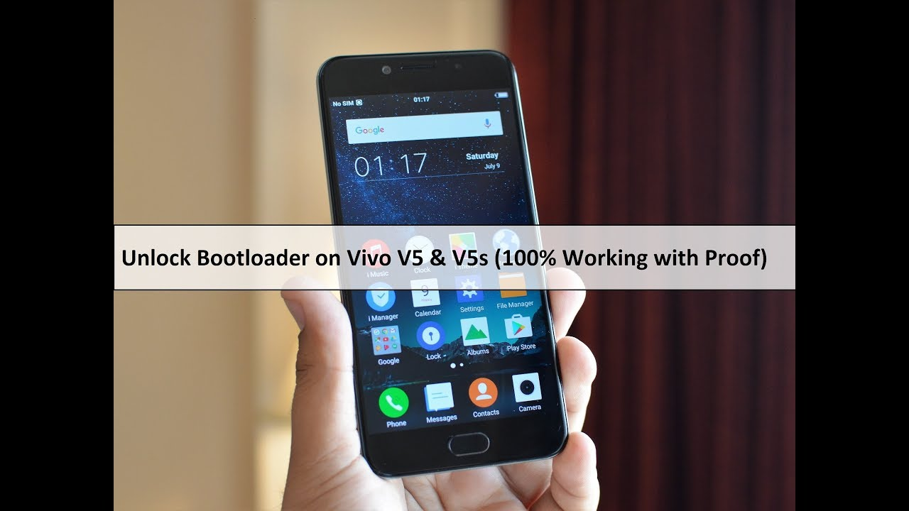 How To Unlock Bootloader on Vivo V5/V5s/V7 (100% Working Proof Added) |  Sunmughan Swamy