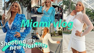 The real reason I went to Miami Vlog .. + my NEW SUMMER CLOTHING COLLECTION!! ad