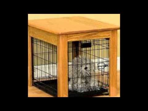 Dog Kennel End Table YouTube
