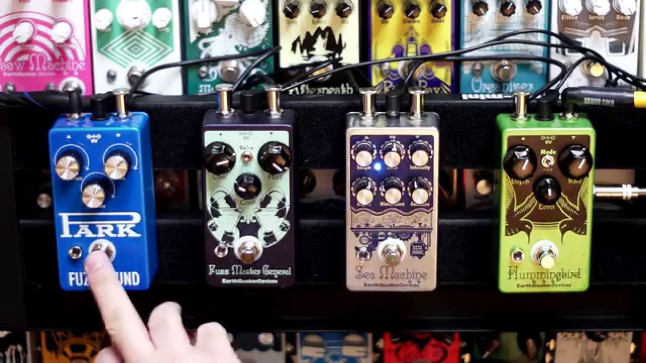 earthquaker devices park amplification park fuzz sound youtube. Black Bedroom Furniture Sets. Home Design Ideas