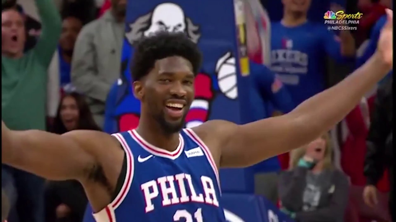 76ers-joel-embiid-blocks-jazz-s-donovan-mitchell-hilariously-baits-mitchell-into-technical-foul