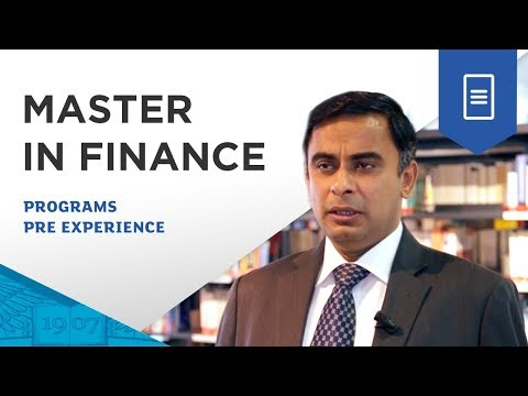 ESSEC Master in Finance - What can you expect from the program?