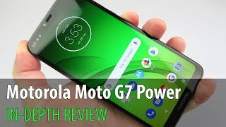 Motorola Moto G7 Power In-Depth Review (5.000 mAh Battery Phone)