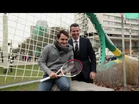 Roger Federer's Manic Monday in Rotterdam