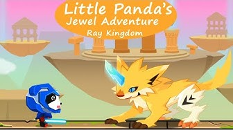 Little Panda's Jewel Quest Adventure #6 - Ray Kingdom | BabyBus Games For Kids