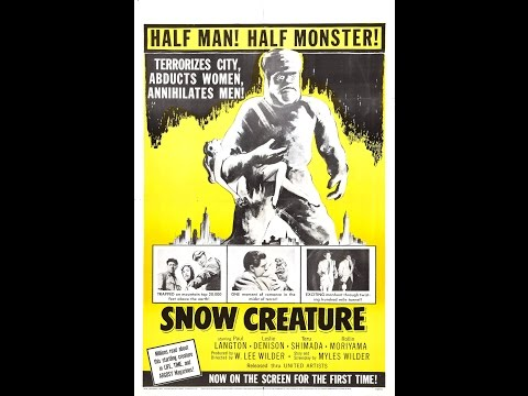 The Snow Creature (1954) Special DRIVE-IN EDITION!