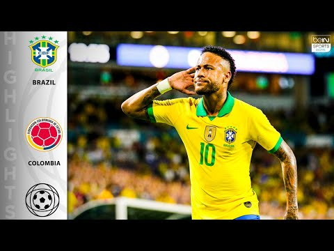 Brazil 2 - 2 Colombia - HIGHLIGHTS AND GOALS - 9/6/19