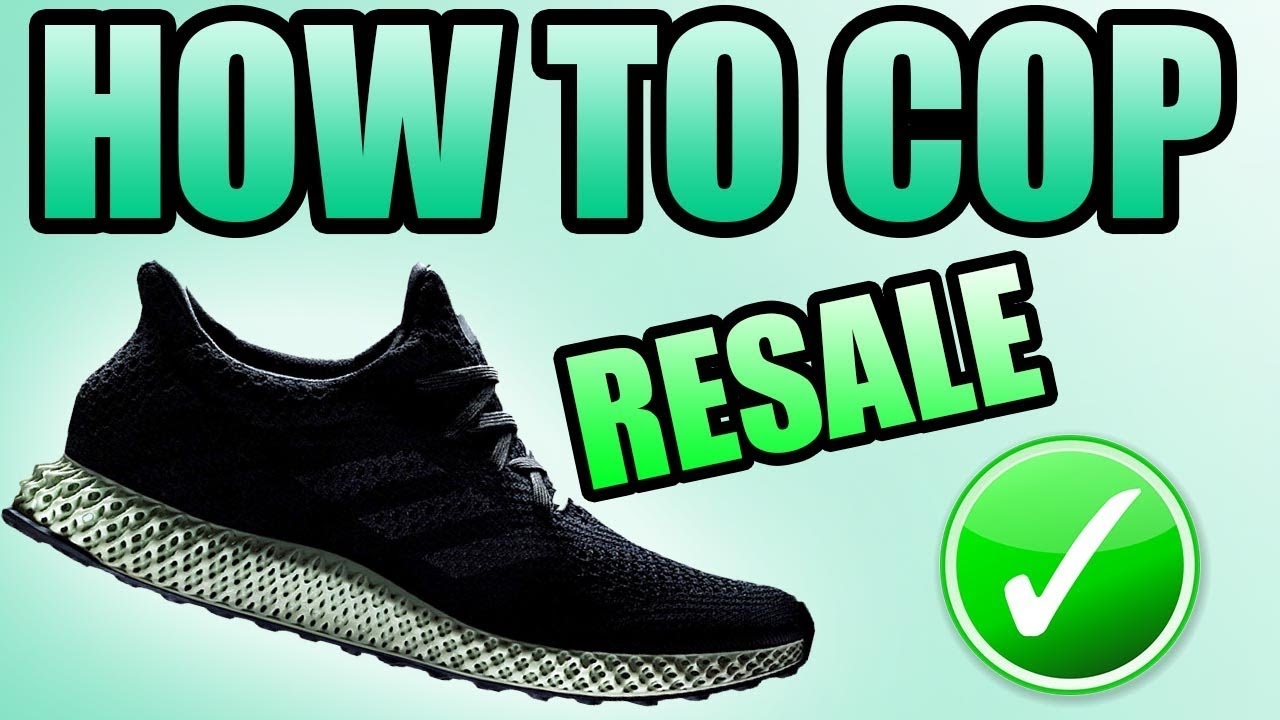 competitive price 7e91b f9226 How To Get The Adidas FUTURECRAFT 4D !  Where To Buy The FUTURECRAFT 4D