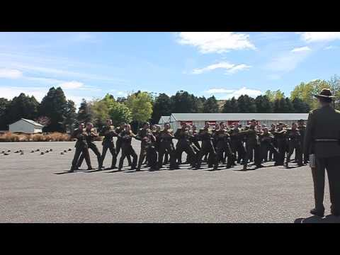 New Zealand Army March Out Haka 2013