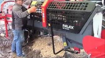 Palax KS 35 ERGO FIREWOOD PROCESSOR! (REVEIW) COOL.