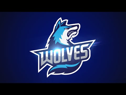 Adobe Illustrator CC Tutorial:  Design E Sports/Sports Logo for Your Team  - Wolves Logo