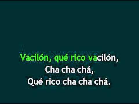 RICO VACILON, orquesta Aragon, karaoke full