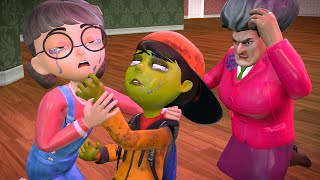 Scary Teacher 3D - Nick Love Tani - (Full) My Girl Friend is a Z0MBIE | BuzzStar Animation