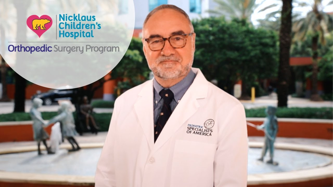 Meet Thomas J. Errico, MD – The Center for Spinal Disorders at Nicklaus Children's Hospital #Orthopedicsurgery