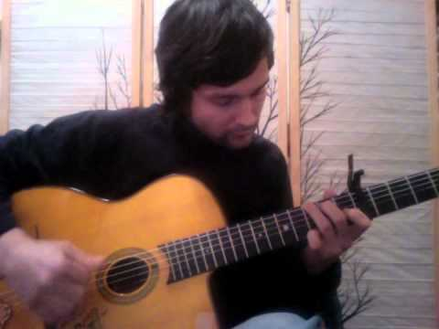 Matt Cross - I Will Follow You Into the Dark, arr. for fingerstyle guitar