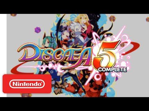 Disgaea 5 Complete – Launch Trailer – Nintendo Switch
