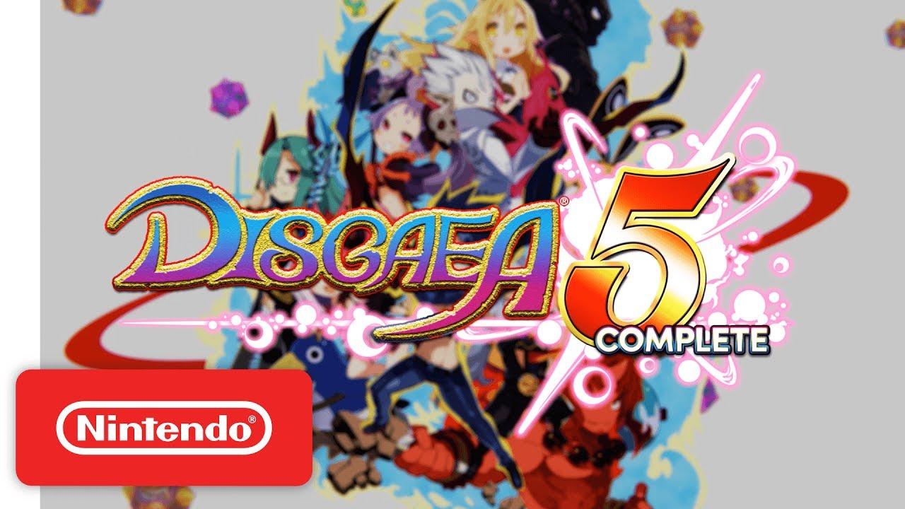 Disgaea 5 Complete выйдет на PC (системные требования)
