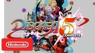 Disgaea 5 Complete - Launch Trailer - Nintendo Switch