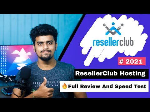 ResellerClub Hosting Review 2021 | Best Hosting For Beginners ? Good Option ? Page Speed Test
