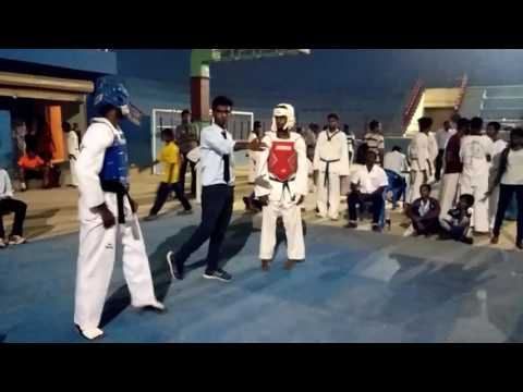 Salem district Taekwondo Match