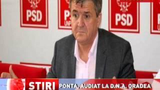 Victor Ponta, audiat la D.N.A. Oradea