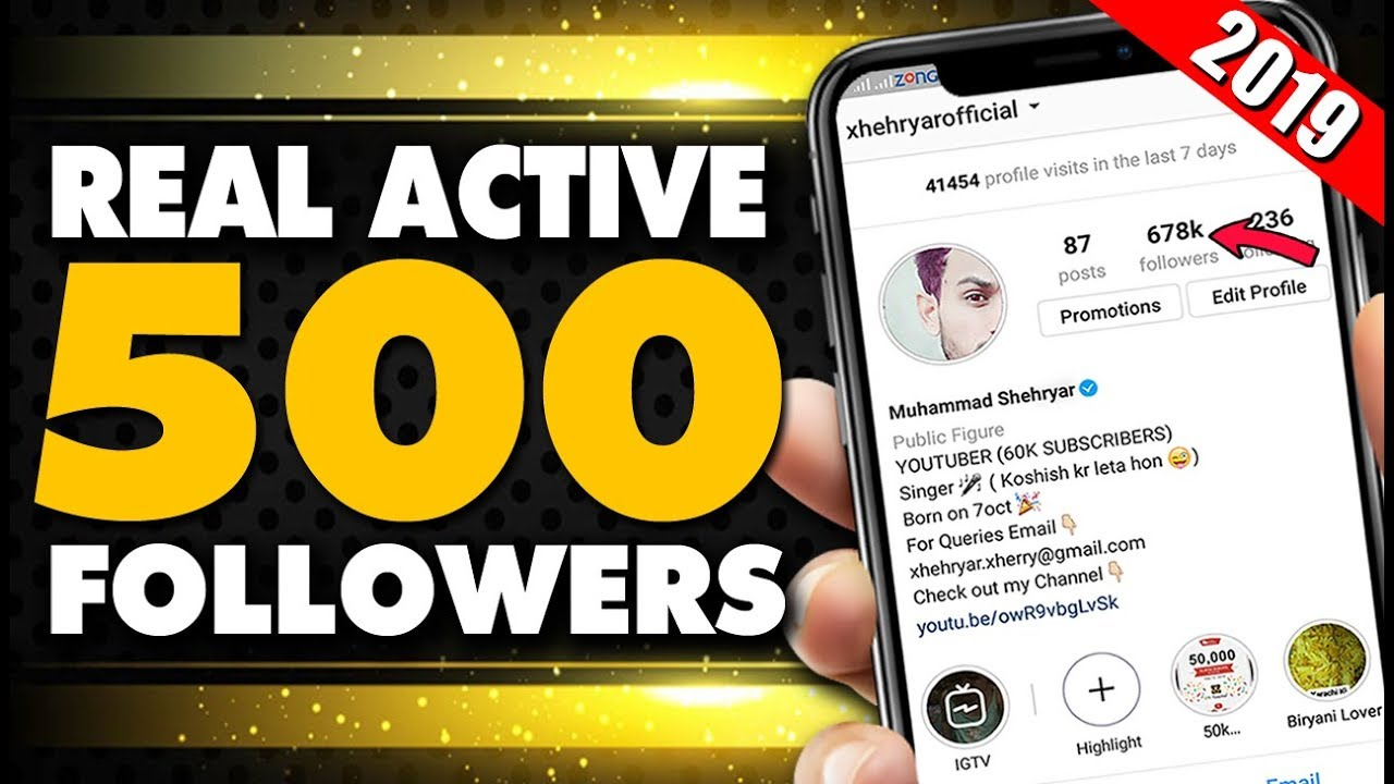 Get Thousands of real instagram followers free 2019 - How to increase  instagram followers 2019