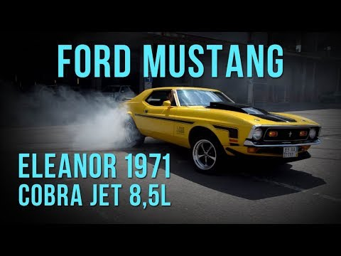 "Ford Mustang Cobra Jet 1971 8,5 600hp ""Eleanor"" #SRT"