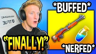 Tfue Reacts To