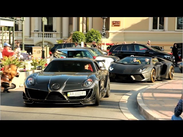 Supercars of Monaco - Winter 2015 (P1, 918, Veyron, & more)