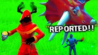 I TROLLED Him with NEW Junk Rift.. (Fortnite)