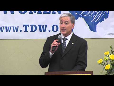 Speech Addressing Texas Democratic Women, February 2014 - Mark Greene for Congress Campaign