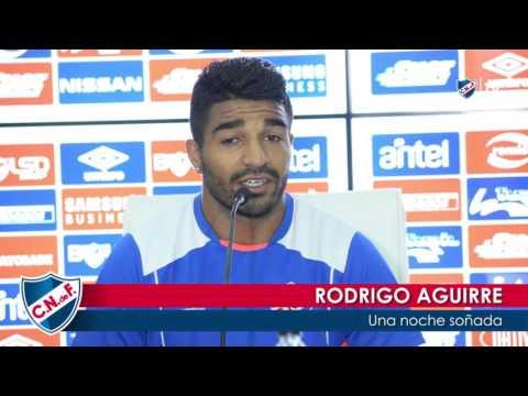 Conferencia de prensa de Rodrigo Aguirre el 12/2/2017