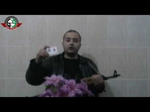 Police officer defects and joins the free syrian army youtube