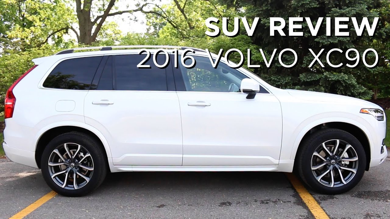 2016 volvo xc90 suv review youtube. Black Bedroom Furniture Sets. Home Design Ideas