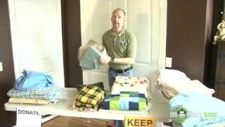 Closet Organizing Part 5 With  Professional Organizer Scott Roewer