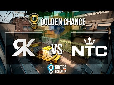 Golden Chance #1 - RampageKillers vs.  NTC (Mapa 2 - Train - Parte 1/2) - Grande Final