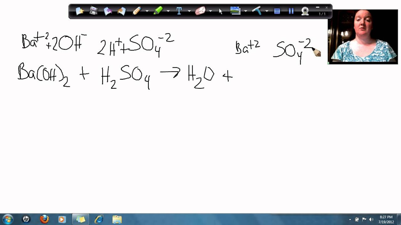 Sulfuric Acid And Water Reaction Equation 82