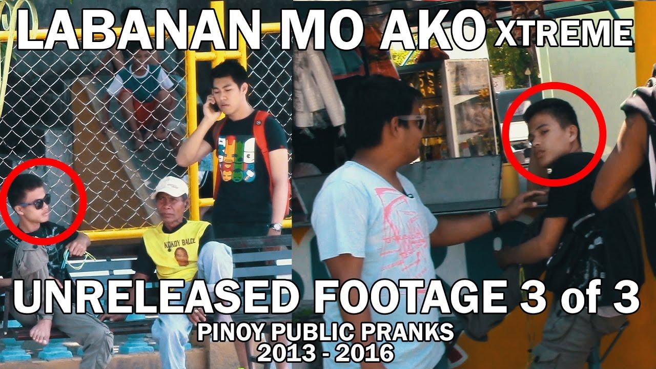 LABANAN MO AKO UNRELEASED FOOTAGE (3 of 3) - PINOY PUBLIC PRANKS