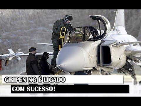 Militar News #101 – Gripen NG É Ligado Com Sucesso!