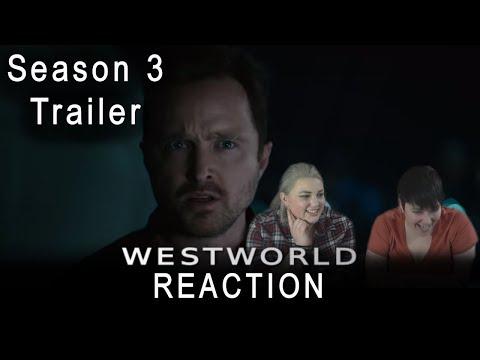 Westworld Season 3 TRAILER Reaction