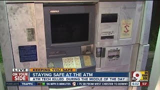 Tips to stay safe at an ATM
