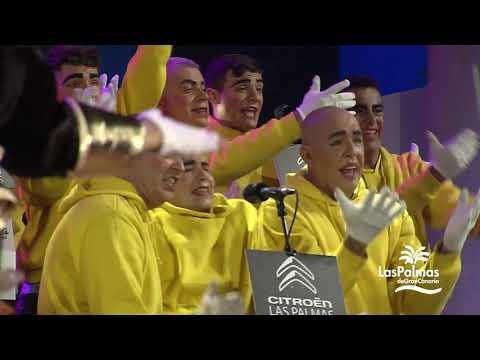 Final del concurso de murgas del Carnaval de Las Palmas de Gran Canaria 2020