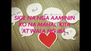 SIGE NA NGA WITH LYRICS by Myruz