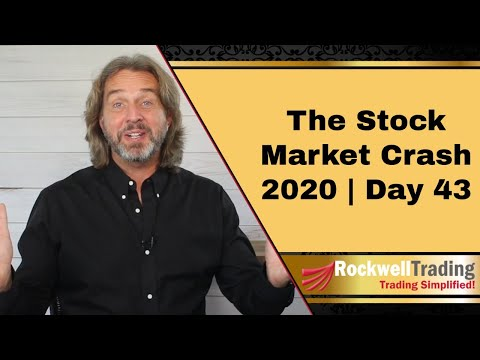 🔴 The Stock Market Crash 2020 - Day 43 | What Is Option Premium?