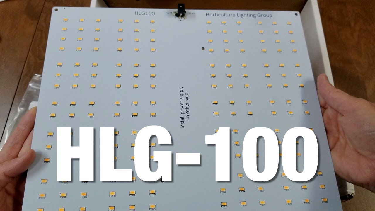 HLG-100 3000K Quantum Board LED grow light from Horticulture