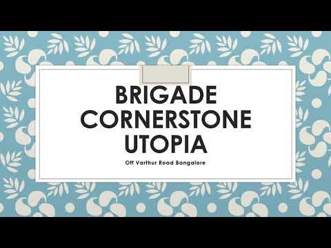 Brigade Utopia  Gallery & Flat Booking Links | Bangalore Apartments | Brigade Group