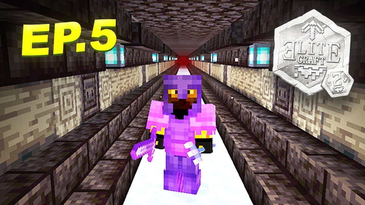 EliteCraft 2 #5 - MI PRIMER TUNEL