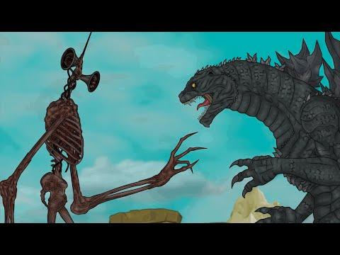 Сиреноголовый против Годзиллы. Часть-1 / Godzilla vs. Siren Head. Part-1